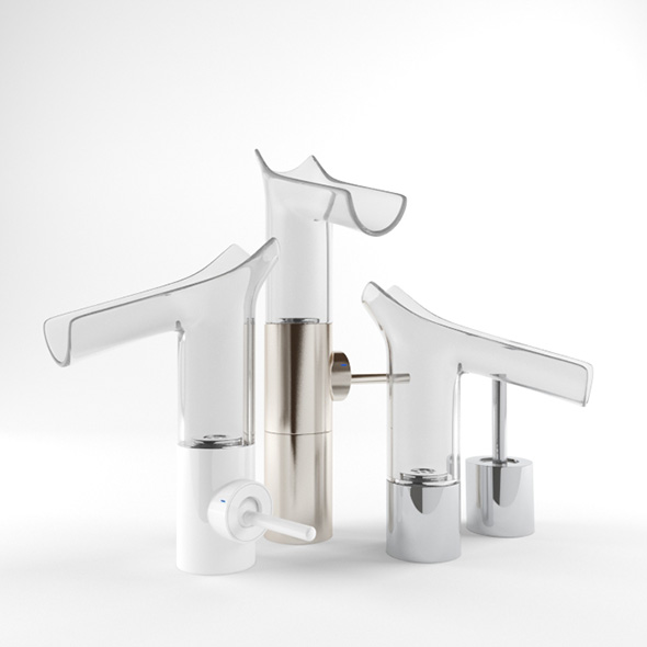 Mixer Axor Starck V - 3DOcean Item for Sale