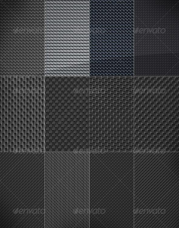 Pattern Carbon Fiber Texture
