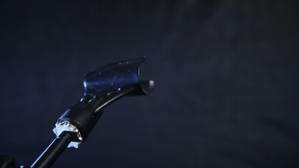 VideoHive Adjusting Microphone In Music Stand 18688217