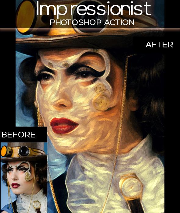 Impressionist Paint Effect