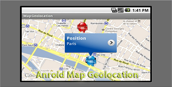 Android Map Geolocation