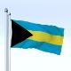 Animated Bahamas Flag