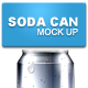Soda Can Mock Up #1 - GraphicRiver Item for Sale
