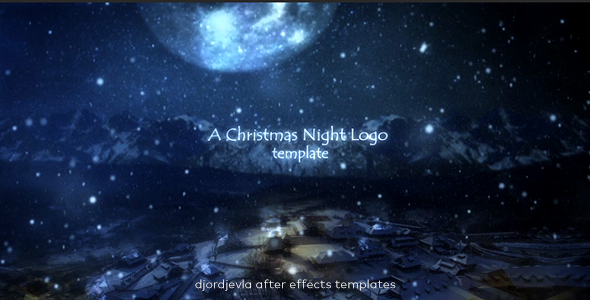 Christmas Night Logo Intro 2017