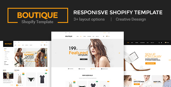 Boutique - Multi Store Responsive Shopify Theme