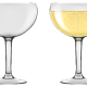 Champagne Coupe Type Glasses.