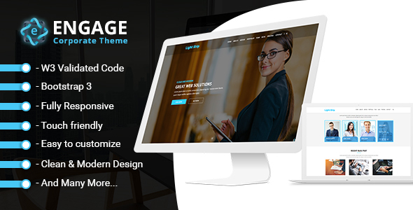 Engage - The Business and Portfolio Template