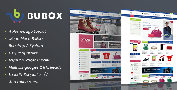 Vina Bubox - VirtueMart Joomla Template for Online Stores