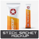 Stick Sachet Mock-Up