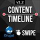 Content Timeline - Responsive Drupal Plugin