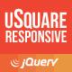 uSquare - Universal responsive grid html5/jquery