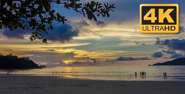 VideoHive Tropical Sunset 18702630