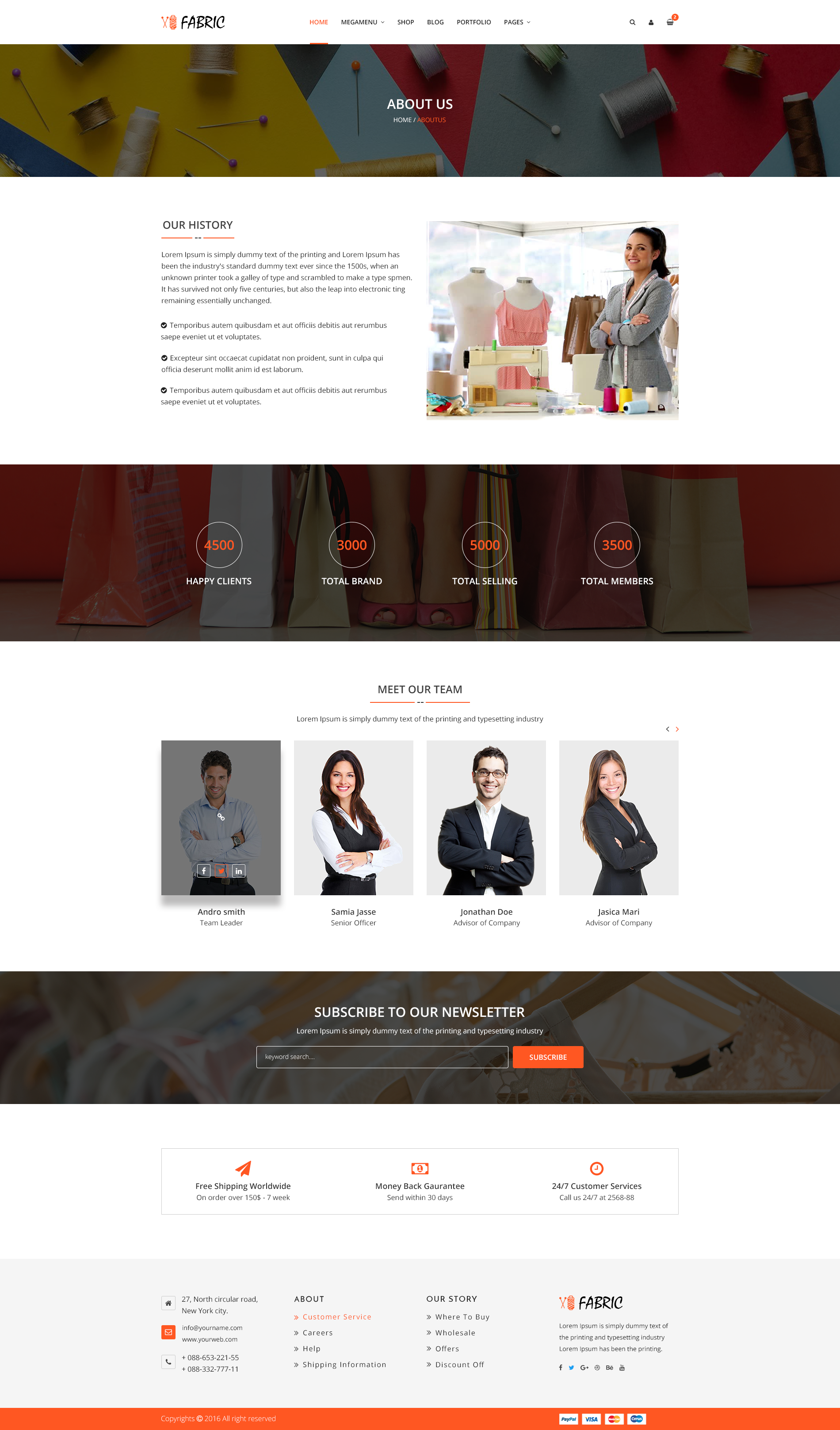 fabric e commerce psd template by bootscore themeforest. Black Bedroom Furniture Sets. Home Design Ideas