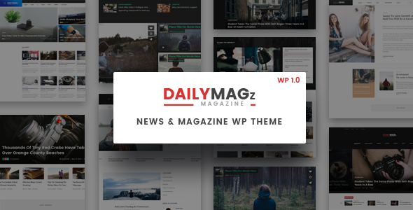 Download Newspaper WordPress Theme - DailyMagz (News, Magazine, Blog) nulled download
