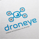 Drone Eye Logo Template