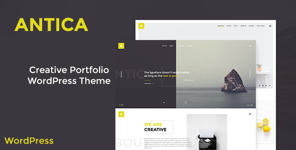 Download Antica — Multipurpose Business Agency/Personal Portfolio WordPress Theme nulled download