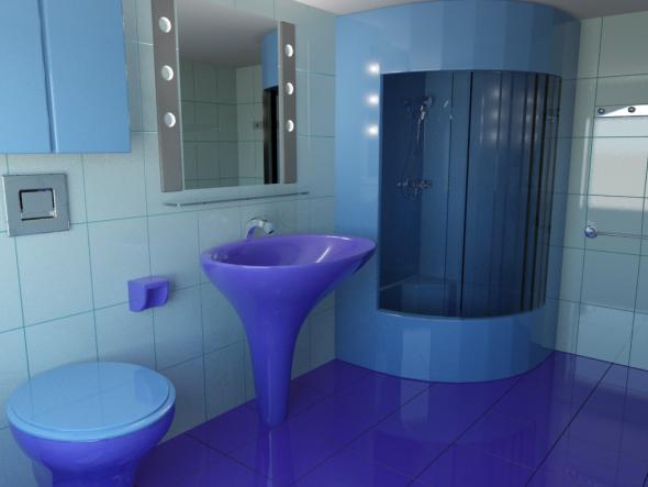 Bathroom Elements - 3DOcean Item for Sale