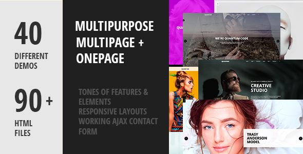 Quantum- Creative Multipurpose HTML5 Template