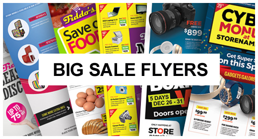 Big Sale Flyers