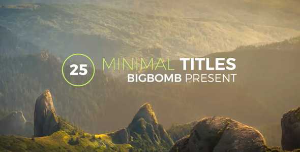 Download Minimal Titles nulled download