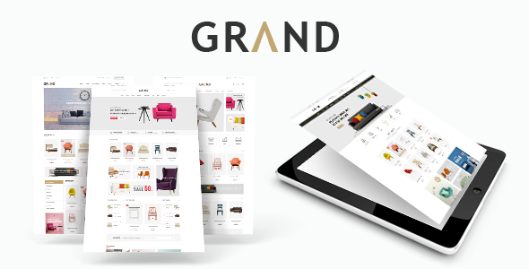 Grand - Responsive Furniture Magento Theme