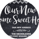 Chalk Styles Moving Announcements Card Template