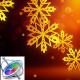 Snowflakes Logo - Apple Motion