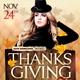 Thanksgiving Bash Flyer