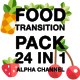 Food Transition Pack 24 in 1