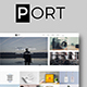 PORT - Minimal Portfolio Template (PSD)
