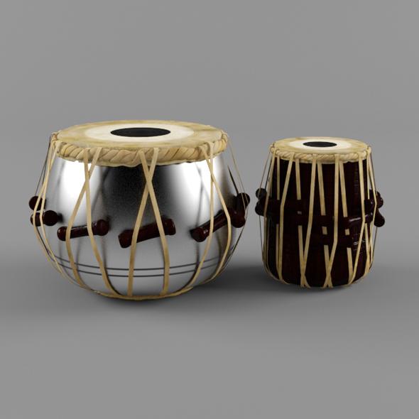 tabla - 3DOcean Item for Sale
