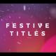 Elegant Festive Titles