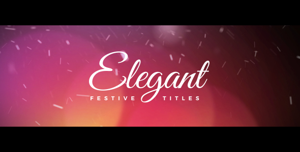 Elegant Festive Titles
