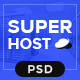 Super Host - Premium Web Hosting PSD Template