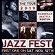 Jazz Fest Flyer Template