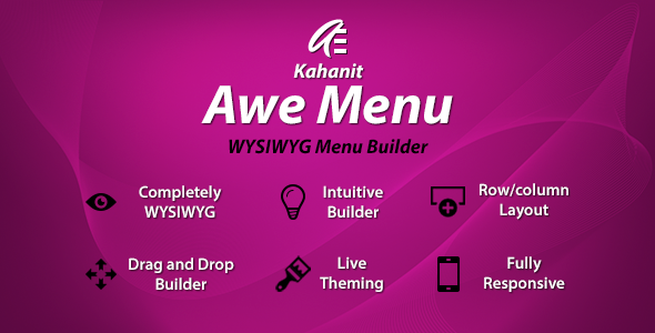 Awe Menu - PrestaShop Top Mega Menu Module - Kahanit