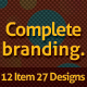 Print ready complete branding - GraphicRiver Item for Sale