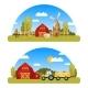 Arcuate Farm Panorams