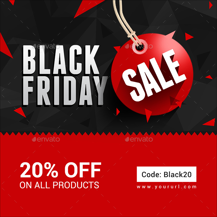 Alien Bees Black Friday Sale: Black Friday Sale Banners By Doto