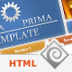 Opera Prima - Premium HTML Template - 5 in 1 - ThemeForest Item for Sale