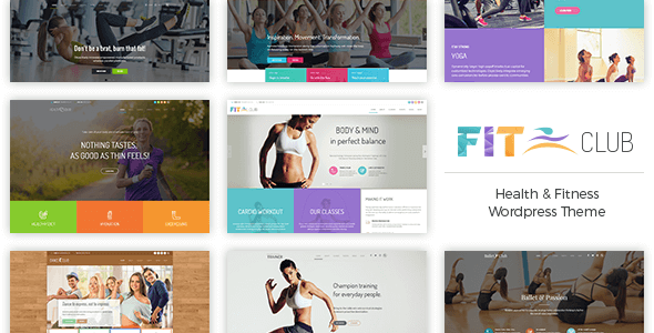 Fitness Club – Well being &amp Fitness WordPress Theme (Well being &amp Beauty)