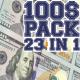 100 Dollars Pack 23 in 1