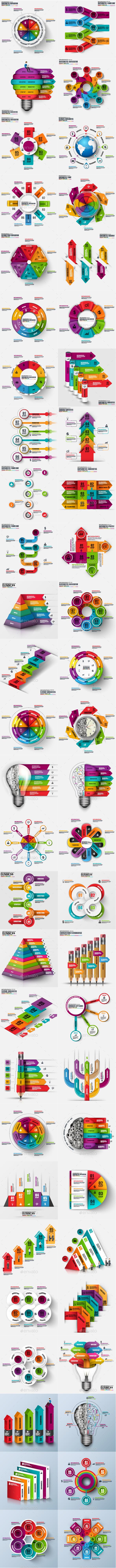 Big Set Infographic Templates