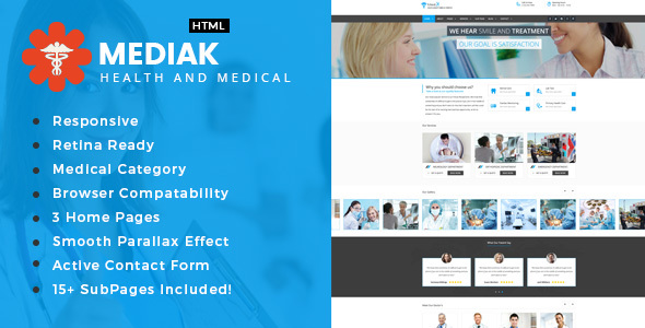 Medik - Health And Medical HTML Template