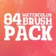 Watercolor & Brush Pack