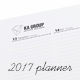 Weekly Planner 2017 over 114 pages