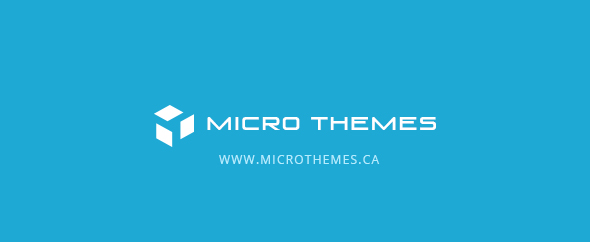 Micro themes main profile