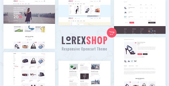LOREX – Multipurpose OpenCart Theme