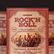 Rock'n Roll Music Flyer