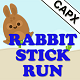Rabbit Stick Run HTML5 Survival Game - AdMob, Cocoon.io app ready - Construct 2 CAPX